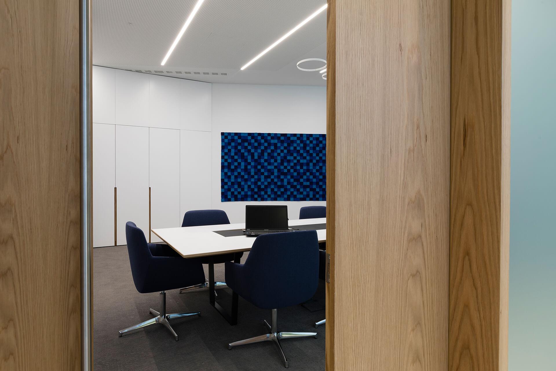 design espaço de reuniões