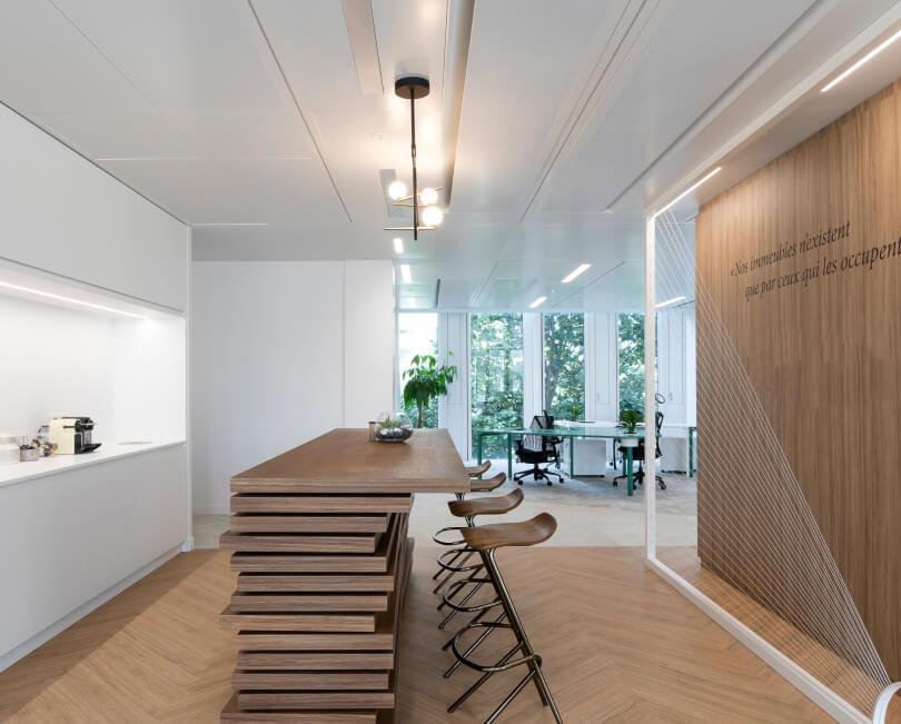 mobiliario escritorio moderno e de luxo